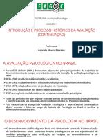 Aula 2 Introduçao e Processo Historico Da Avaliaçao 2