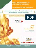 9 Congreso internacional de ingeniería contra incendios  - Madrid, 23-25/10/2017
