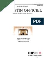 Loi Bancaire 103-12 Maroc