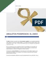 Amuletos Poderosos Ankh