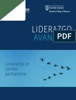 Catálogo Liderazgo Avanzado 2015