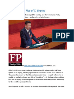 The Resistible Rise of Xi Jinping.docx