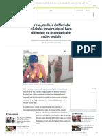 Presa, Mulher de Nem Da Rocinha Mostra Visual Bem Diferente Do Ostentado Em Redes Sociais - Jornal O Globo