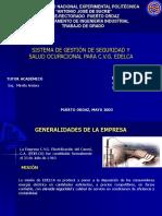 Sistema Gestion Seguridad y Salud Ocupacional c v g Edelca