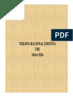 Presentacion de La Terapia Racional Emotiva de Ellis