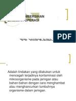 Tehnik Pembersihan Kamar Operasi - Doc