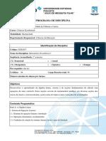 Programas de Ensino Economia 2012