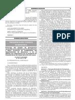 Prorroga Del Estado de Emergencia Declarado en Los Distritos Decreto Supremo n 101 2017 Pcm 1576323 2