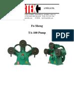 Catálogo de Compresor Ta 100