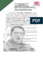 Acta de Inspeccion y Control de Contraloria 2015