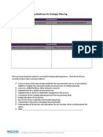 Strategic Planning Worksheets 4-17-121