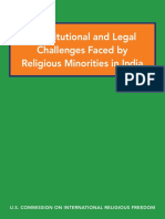 Constitutional and Legal Challenges Faced by Religious Minorities in India