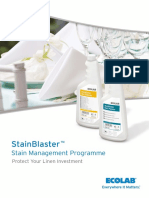 Stainblaster Brochure English