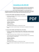How to Setup Port Forwarding in DIR-300