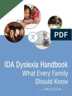 IDA Dyslexia Handbook