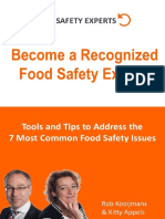 7 Common Food Safety Issues