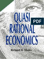 Quasi Rational Economics_Thaler Richard