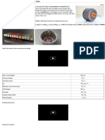 600 Watt, 3d-Printed, Halbach Array, Brushless Motor - Projects