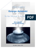 A Critical Appraisal of George Adamski - The Man Who Spoke to the Space Brothers.pdf