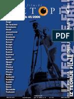 Hrvatski Filmski Ljetopis 45 - Iz Teorije Filma