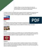 Información General de Rusia
