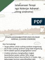 Penatalaksanaan Hiperfungsi Kelenjar Adrenal (Cushing Syndrome)