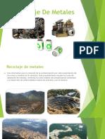 Reciclaje de Metales