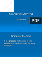 scientific method english
