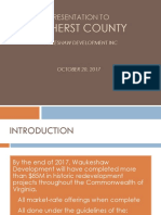 Amherst County - Waukeshaw Development Presentation