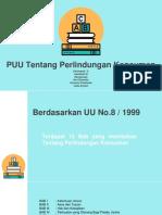 Ppt Peraturan Perundang-undangan Tentang Konsumen