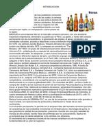 En El Perú Más de La Mitad de Los Ciudadanos Consumen Algún Tipo de Bebida Alcohólica
