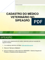 Cadastro Medico Veterinario Versao II