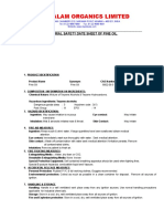MSDS of Pine Oil