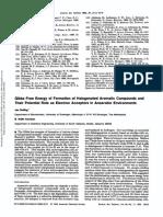 Potencial de Redução de Clorofenois