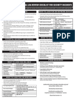 CRITICAL LOG REVIEW CHECKLIST FOR SECURITY INCIDENTS.pdf