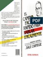 El Camino Fácil y Rápido para Hablar Eficazmente - Dale Carnegie.pdf