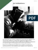 Calificación de Soldadores | Arco Industrial