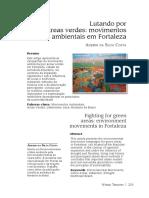 Artigo Áreas Verdes