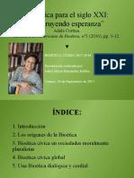 Exposición. Bioética Para El S. XX. Adela Cortina.