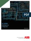 3bds009030-510 a en Ac 800m 5.1 Profibus Dp Configuration