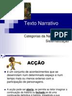Categorias Da Narrativa (Blog 8 09-10)