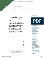 Gestalt_ Qué Es, Características, Leyes, Autores y Principales Aplicaciones