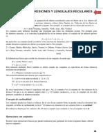 Módulo 1 - Expresiones y Lenguajes Regulares