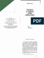 Habermas-1968-Técnica-e-ciência-como-ideologia