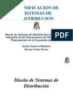 Diseño de Sistemas de Distribucion - Planificación de La Ubicación de La Subestación y de La Expansión Del Sistema - Karla Genovez - Bryan Ureña