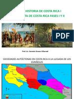 II Presentacion Conquista de Costa Rica i y II