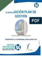 Informe Evaluacion Plan de Gestion Modelo