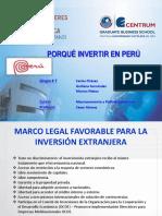 PORQUÉ INVERTIR EN EL PERÚ