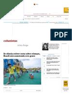 Se Ciência Estiver Certa Sobre Crianças, Brasil Está Cometendo Erro Grave - 27-09-2017 - Érica Fraga - Colunistas - Folha de S