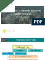 Economic Valuation. Methodologies